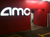 AMC-branded exit in the Century City parking garage