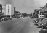 Original marquee on the far right 1951/`52