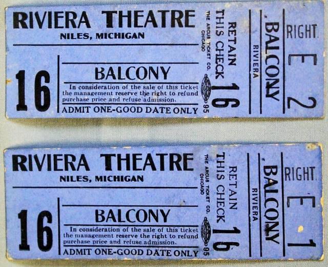 riviera theatre in niles mi cinema treasures