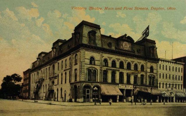 Victoria Theatre ca. 1908