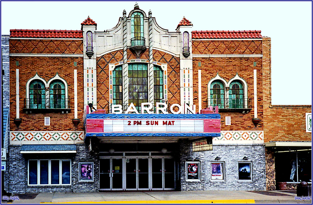 Barron Theatre ... Pratt Kansas