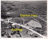 Belknap Drive-in overhead photo