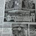 Newspaper image courtesy of Len Laurro.