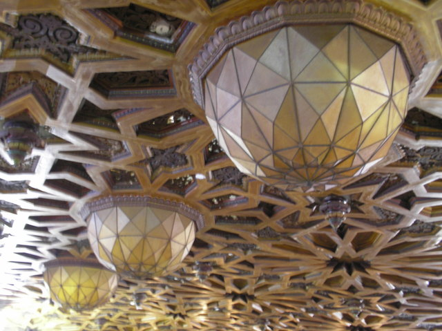Fox Oakland Auditorium Ceiling