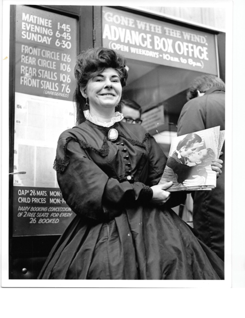 'Gone with the Wind' Programme Seller.