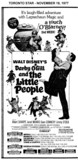 "AD FOR ""DARBY O'GILL AND THE LITTLE PEOPLE"" - CINEMA (HAMILTON) AND OTHER THEATRES"