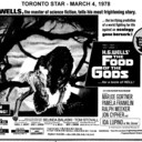 """AD FOR """"FOOD OF THE GODS"""" - SKYLINE AND OTHER THEATRES"""