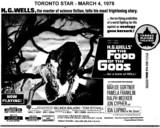 "AD FOR ""FOOD OF THE GODS"" - ST. CLAIR AND OTHER THEATRES"