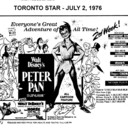 """AD FOR """"PETER PAN"""" - DIXIE 5 AND OTHER THEATRES"""