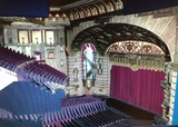Scale model of the Roxy auditorium. Photo credit Jeffrey Nickora.