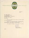January 6, 1970 Fillmore East letter courtesy of Rick Barrett Collectibles.