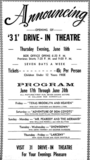 Highway 31 Drive-In