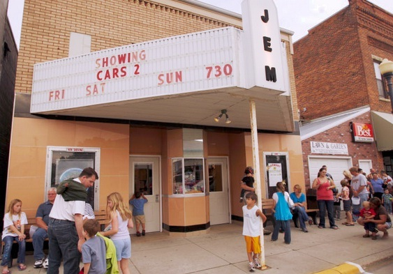 Jem Theatre In Harmony Mn Cinema Treasures