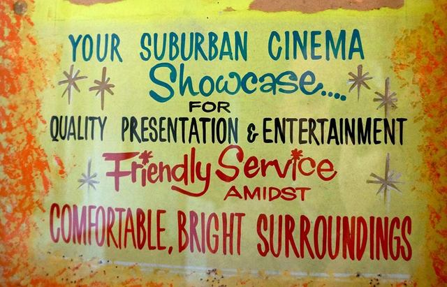 Crystal Palace Theatre signage