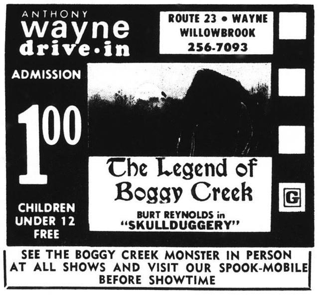 1972 print ad courtesy of Keith West.