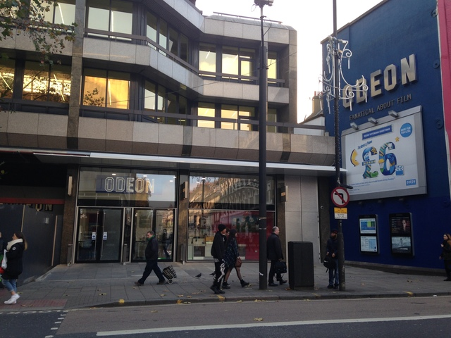 Odeon Tottenham Court Road 2015