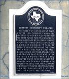 Comfort Community Theatre ... Comfort Texas