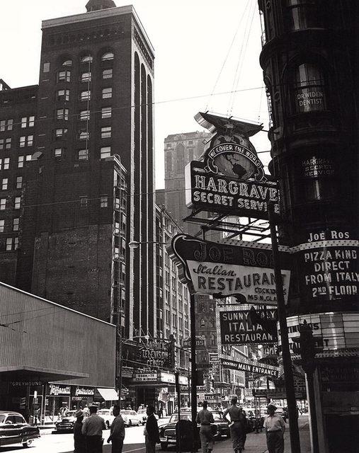 Mid `50's photo credit John Szarkowski, from his book 'The Idea of Louis Sullivan'.