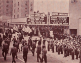 "<p>It's Dec. 26, 1939 and time for the American Theatre to launch in the Bronx with ""Escape"" and ""Over the Moon."" There's a parade to celebrate the opening.</p>"