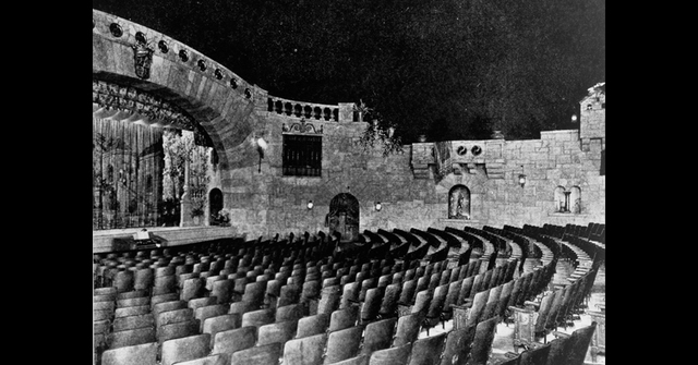 1929 Interior of the Granada Theatre