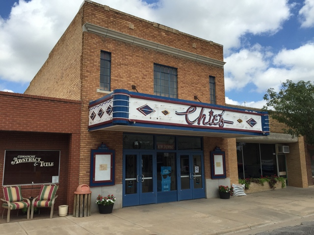 Chief Theater - Coldwater KS 9-9-15