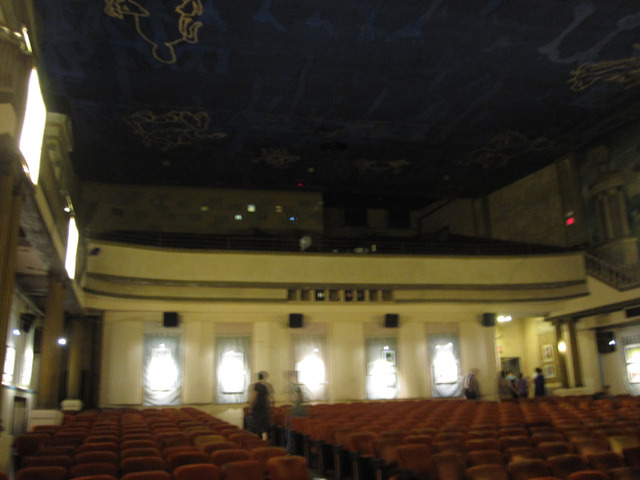 Latchis Theatre (Brattleboro, VT) - Rear of auditorium & balcony