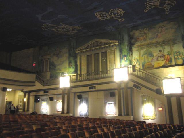 Latchis Theatre (Brattleboro, VT) - Left auditorium sidewall