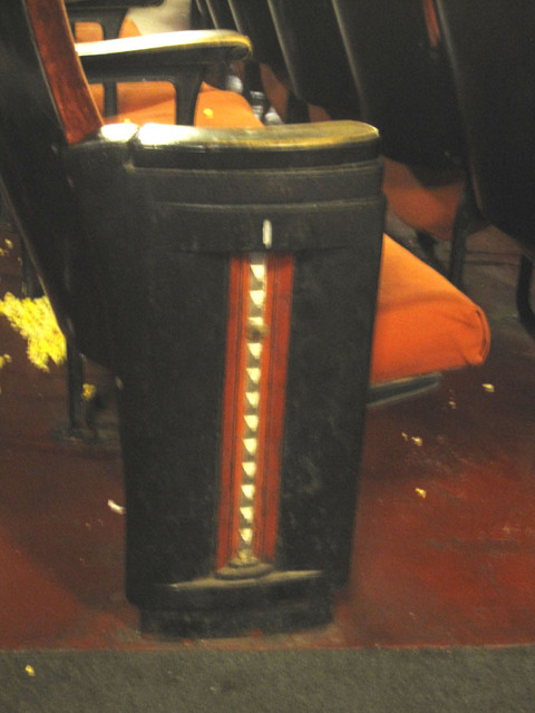 Latchis Theatre (Brattleboro, VT) - Seat end detail