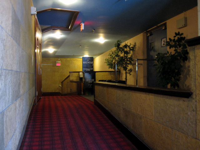 Latchis Theatre (Brattleboro, VT) - Upper foyer
