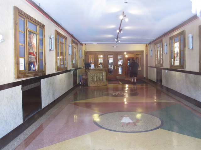 Latchis Theatre (Brattleboro, VT) - Outer lobby
