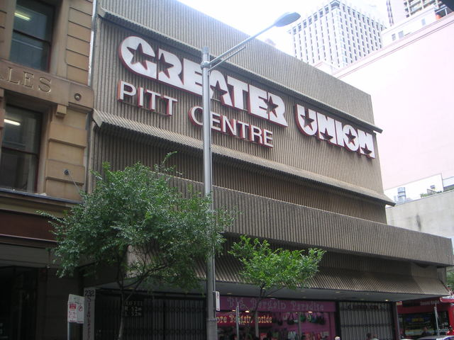 Greater Union Pitt Centre
