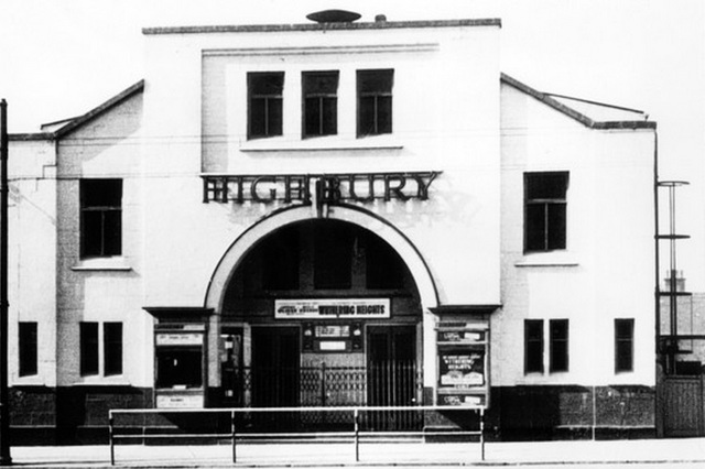 The Highbury Cinema, Highbury Road, Highbury Vale, Bulwell, 1962