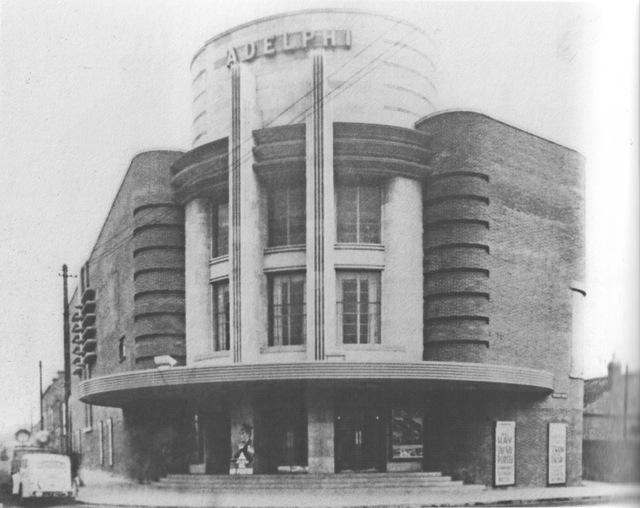 ABC Adelphi Cinema / Bingo Hall , Hucknall Lane / Main Street , Bulwell 1938