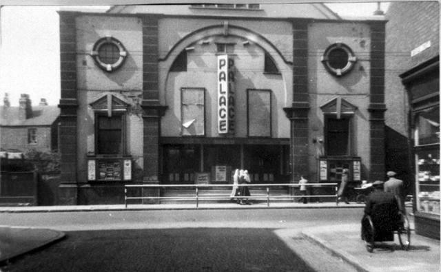 Palace Cinema , Main Street, Bulwell c1940/50s