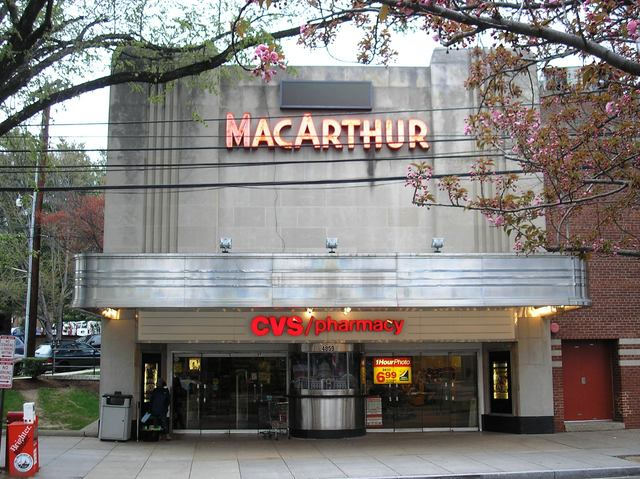 Macarthur theater in washington dc cinema treasures for Georgetown movie theater