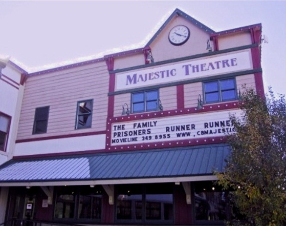 Majestic movie theatre crested butte