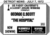"AD FOR ""THE HOSPITAL"" - BLOOMFIELD THEATRE"