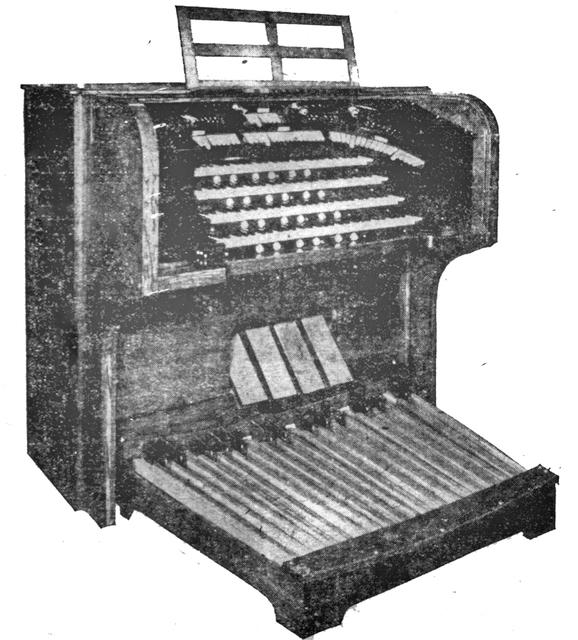 Page Organ Console (1925)