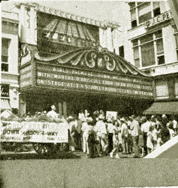 A 1946 World Premiere At The Electric Theatre In Springfield With Down Missouri Way