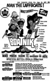 "AD FOR ""THE BOATNIKS"" - CINEMA (HAMILTON) AND OTHER THEATRES"