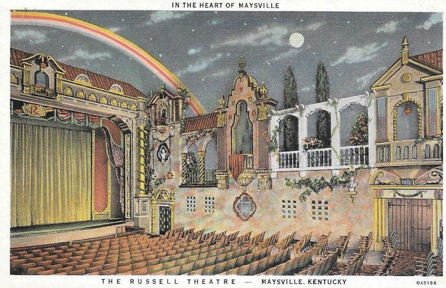 russell theatre in maysville ky cinema treasures