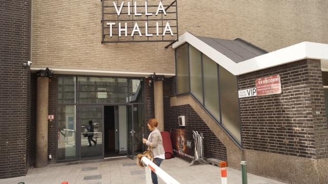 Entrance of Villa Thalia