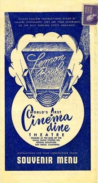Lemon Bowl Cinema-Dine