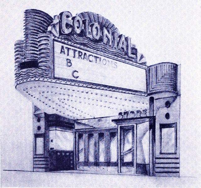 colonial theater in bluefield wv cinema treasures