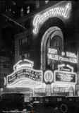 Paramount Theatre at night, November 30, 1932. Photo credit Samuel Herman Gottscho (1875-1971)