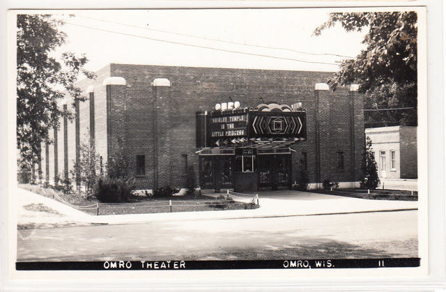 OMRO Theatre; Omro, Wisconsin.