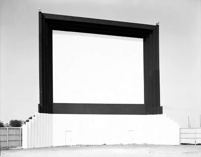 The Odom Drive-In Theatre Screen...1947