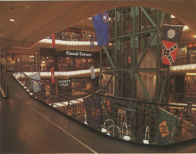 Early `80's mall interior photo courtesy of Darla Zailskas.
