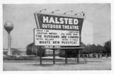 Halsted Twin Outdoor Theatre In Riverdale Il Cinema Treasures