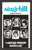 1975 Shubert Stagebill courtesy of the Chicago's Extinct Businesses Facebook page.